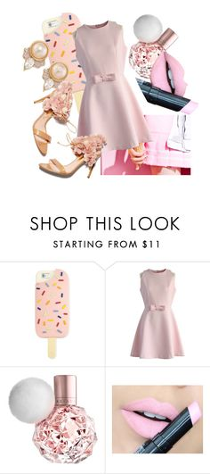 """Pink!!!"" by cadenceamy2004 ❤ liked on Polyvore featuring Tory Burch, Chicwish, Fiebiger, Carolee, Rupert Sanderson, men's fashion and menswear"