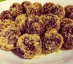 Szafi Fitt mindenmentes diétás diógolyó (kókuszgolyó) recept (Paleo&Vegán)~ Éhezésmentes Karcsúság Szafival