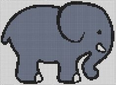 Elephant 3 Cross Stitch Pattern by MotherBeeDesigns on Etsy, $0.99