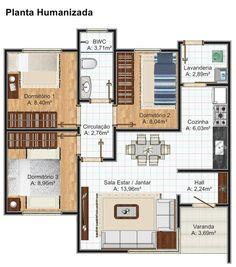 Plantas casas 3 quartos com suite casa goiania com 3 for Casa clasica procrear terminada