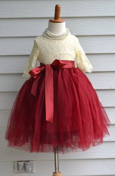 Hey, I found this really awesome Etsy listing at https://www.etsy.com/ca/listing/242659022/girls-burgundy-tutu-girls-maroon-long