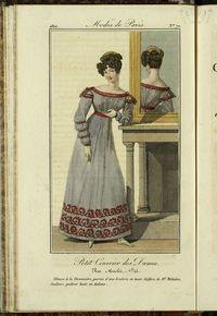 Petit Courrier des Dames : annonces des modes, des nouveautés et des arts del 15 de Agosto de 1822