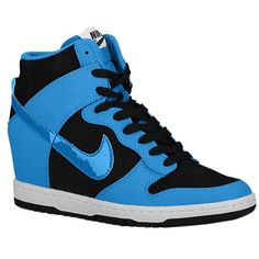 Nike Womens Wmns Dunk Sky Hi Essential BLACKLIGHT BLUE LACQUERWHITE 8 M US >>> Find out more about the great product at the image link.