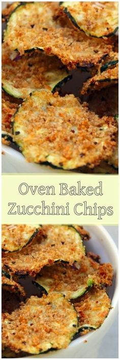 Oven Baked Zucchini Chips - great for low-calorie snacking! Many of these healthy H E A L T H Y . Oven Baked Zucchini Chips - great for low-calorie snacking! Veggie Recipes, Vegetarian Recipes, Snack Recipes, Cooking Recipes, Healthy Recipes, Dishes Recipes, Recipies, Chicken Recipes, Healthy Chips