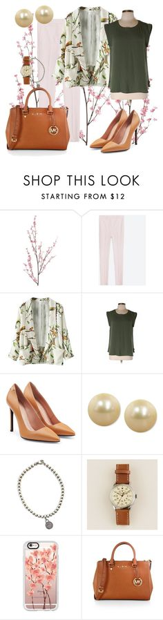 """Gardening"" by marijime on Polyvore featuring moda, Pier 1 Imports, J.Crew, Roland Mouret, Honora, Tiffany & Co., Casetify, MICHAEL Michael Kors, WorkWear y Spring"