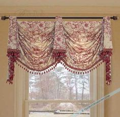 Classic Empire Pole Swag Valance #valances