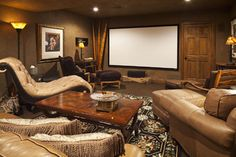 Media Room Popular Paint Colors For Living Rooms Design, Pictures, Remodel, Decor and Ideas - page 5