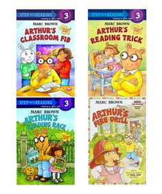 Look what I found on #zulily! Arthur Learning Experiences Reader Paperback Set #zulilyfinds
