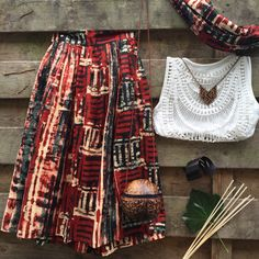 Mix and Match! High waist Ndebele skirt' #nubian #boho #fashion #Africanprint