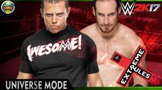 WWE Universe Mode: Extreme Rules - The Miz vs Aiden English  [PPV] 2K17