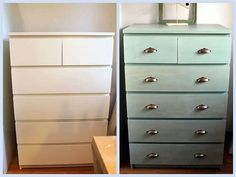 Βάφουμε τα έπιπλα μελαμίνης με Miss Mustard Seed's Milk Paint! - The Paintbox Smart Furniture, Furniture Makeover, Painted Furniture, Milk Paint, Diy Painting, Home Kitchens, Closet Doors, Diy And Crafts, Kitchen Design