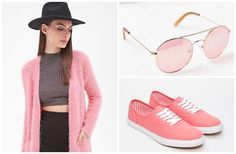 Pretty-in-pink.  Style up your #wardrobe with this girlie yet fierce color! #Pink #fashion