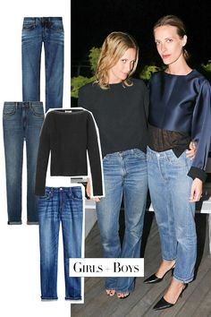 The Style: How to Wear the New Denim