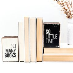 so many books, so little time book ends