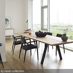 haus42 - besser skandinavisch wohnen präsentiert: naver-collection. massivholzmöbel in bester skandinavischer tradition. hier eine moderne esszimmer-gruppe,…