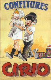 Manifesto pubblicitario 1930 - #cirio #art #arte  www.cirio.it