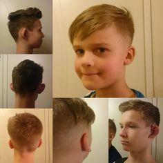 Hiustenleikkaus 3x nuorta miestä Kaksi toivoi lyhyempää ja kolmas klassisempaa 2/2017