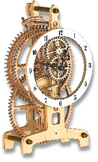 Welcome to Brian Law's Wooden Clocks Free plans to help you build a wooden clock. Wooden Clock Plans, Wooden Gear Clock, Wooden Gears, Wood Clocks, Diy Cnc, Wooden Projects, Wood Crafts, Woodworking Plans, Woodworking Projects