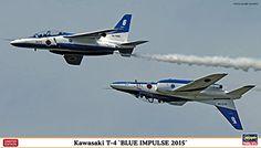 172 Kawasaki T4 Blue Impulse 2015 Daburukuote two aircraft set >>> Check out the image by visiting the link.