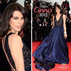 #Milla Jovovich  #Look #Cannes2013 #MakeUp #LorealParisAr