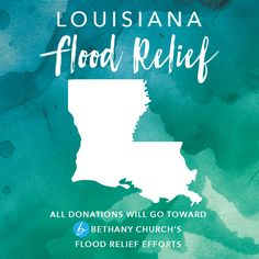 DONATIONS NOW BEING ACCEPTED ONLINE & IN STORES!! Louisiana recently experienced catastrophic flooding and needs our help! We've partnered with Bethany Church in Louisiana to allow our customers to make donations, which will go directly toward flood relief efforts throughout the area. Please visit our website or your local store to make a donation TODAY!