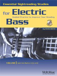 ESSENTIAL SIGHTREADING STUDIES FOR BASS, 3 Vol. set Bass Guitar Scales, Guitar Online, Reading Music, Music Theory, Reading Skills, Learn To Read, Electric, Study, Songs