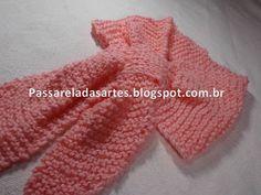 Artes na Passarela: Cachecol gravata