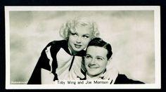 Cigarette Card - Toby Wing & Joe Morrison
