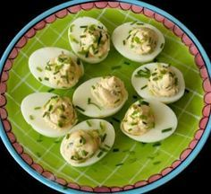 Gevulde eieren met mascarpone