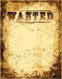 wanted poster template free | most wanted poster template | free