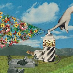 Collage art & Illustrations by Sammy Slabbinck