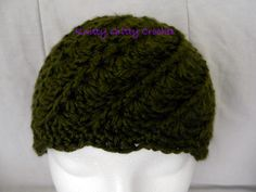 Hand Crocheted Twisting Vines Hat