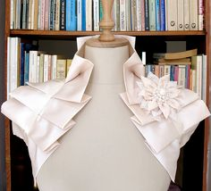 Cream Ivory Satin Ruffle Bolero | Flickr - Photo Sharing!