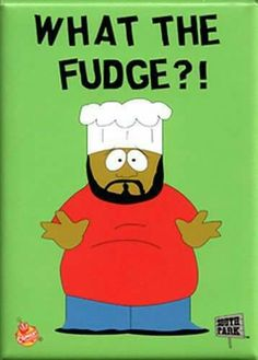 "South Park-Chef ""What The Fudge? Best Cartoons Ever, Cool Cartoons, South Park Characters, Fictional Characters, Cartoon Characters, James L Brooks, Eric Cartman, Stupid Human, Kid Character"