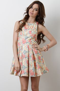 Enchanting Rose Dress