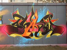 Absolutely beutiful Graffiti Piece, Graffiti Artwork, Graffiti Drawing, Graffiti Styles, Graffiti Lettering, Street Art Graffiti, Graffiti Pictures, Urban Street Art, Wildstyle
