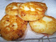 Fried Potato Cakes Using Leftover Mashed Potatoes