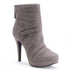 ELLE Women's Platform Ankle Boots