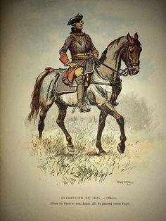 Cuirassier Du Roi. Officier