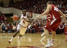 We have such a great IU Basketball Team!  Here's Victor Oladipo vs Wisconsin on 1/15/13.  Check out the remaining schedule and be sure to at least see a few games : http://www.iuhoosiers.com/sports/m-baskbl/ind-m-baskbl-body.html