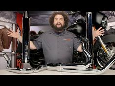 ▶ Rinehart Exhaust for Harley Touring Review at RevZilla.com - YouTube