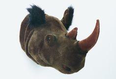 Trophée Peluche Rhinocéros