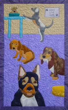 Dogs pattern by Tracey Campbell at Top of the Range Designs