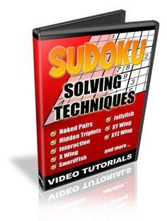 Sudoku solving techniques We Love 2 Promote http://welove2promote.com/product/sudoku-solving-techniques/    #promotion