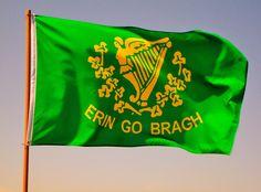 Bandeira de Erin Go Bragh - Ou do Batallón de San Patricio