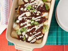 Easiest-Ever Chicken Mole Enchiladas