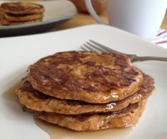 These paleo Sweet Potato Pancakes are perfect for fall breakfasts and brunches!