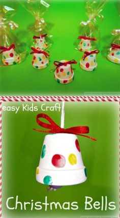 Don't you just love Christmas crafts? There is just something so fun about making decorations for the holidays. I always try to do a few different DIY Christmas decorations every year so that means that every year I have to search for something new to do. This year, I found an amazing list of 20... As it happens, some sort of Holiday credit card is usually a cards specially oriented with the Yuletide activities with Dec 25th. This Holiday card can be some text for all the individuals the follow Christmas Ornament Crafts, Handmade Christmas, Christmas Gifts, Christmas Bells, Christmas Clay, Popsicle Stick Christmas Crafts, Stick Crafts, Christmas Bedroom, Natural Christmas