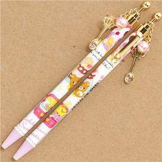 Rilakkuma bear sweets Ballpoint pen with charm