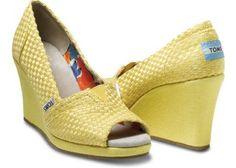 yellow wedge